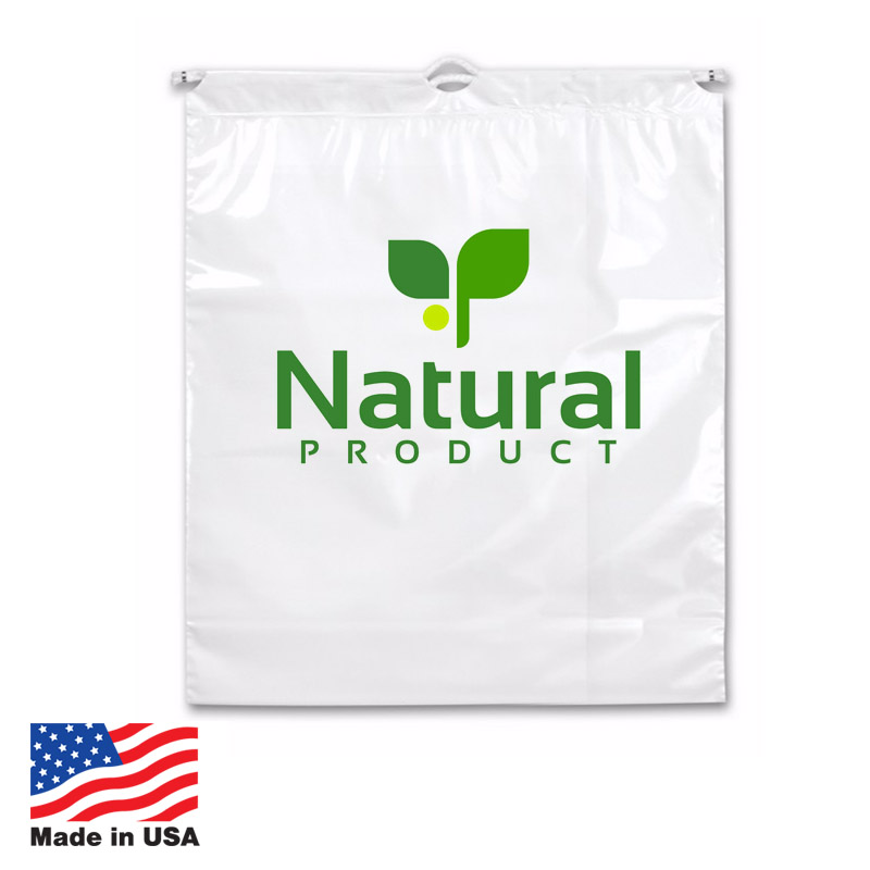 Custom Cotton Drawstring Bags Made In USA
