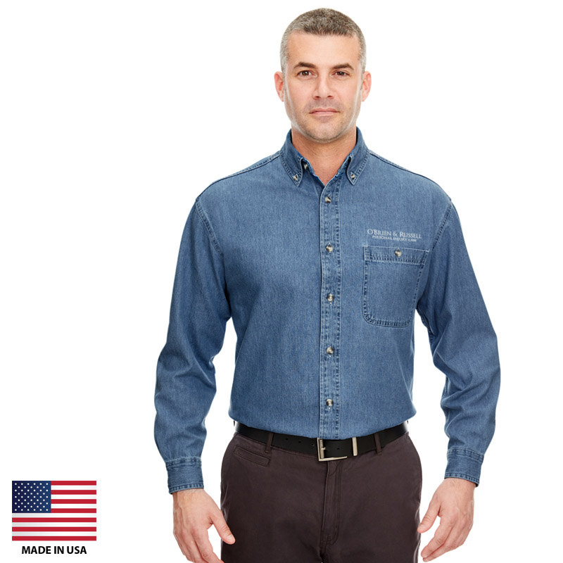 Custom Denim Shirts Made In USA