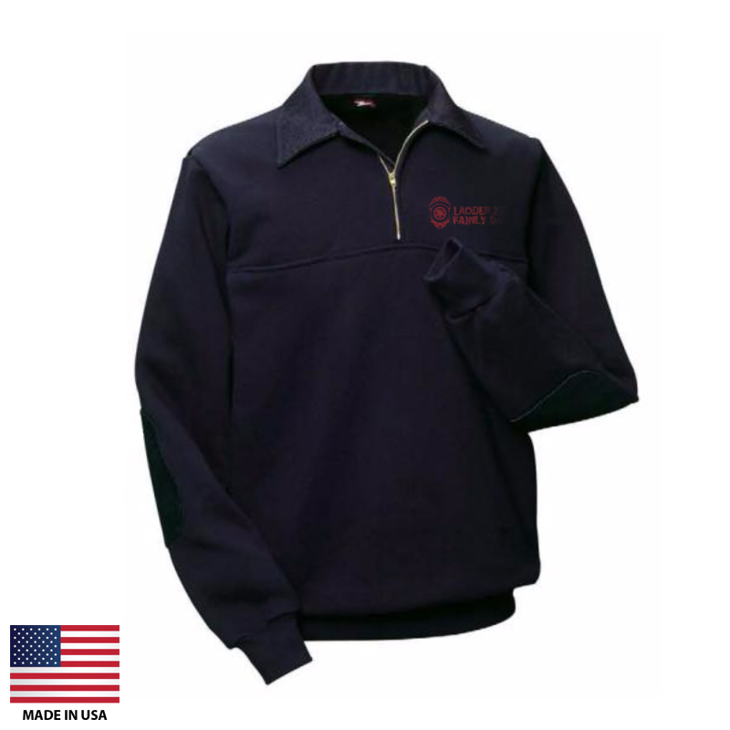 f8d1bb9cf Custom Sweatshirts Made In USA, Quarter Zip #US368
