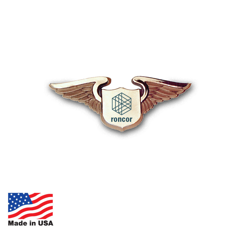 Custom Pilot Wings Made In USA