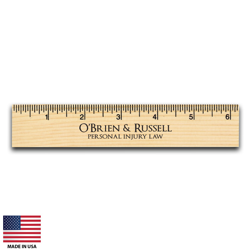 Custom Wood Rulers Made In USA