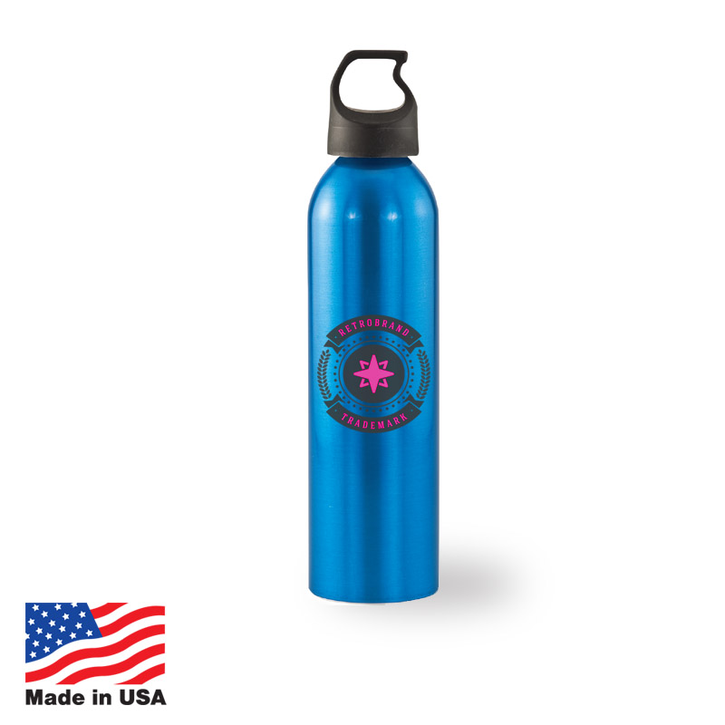 USA Promotional 24oz Aluminum Bottles