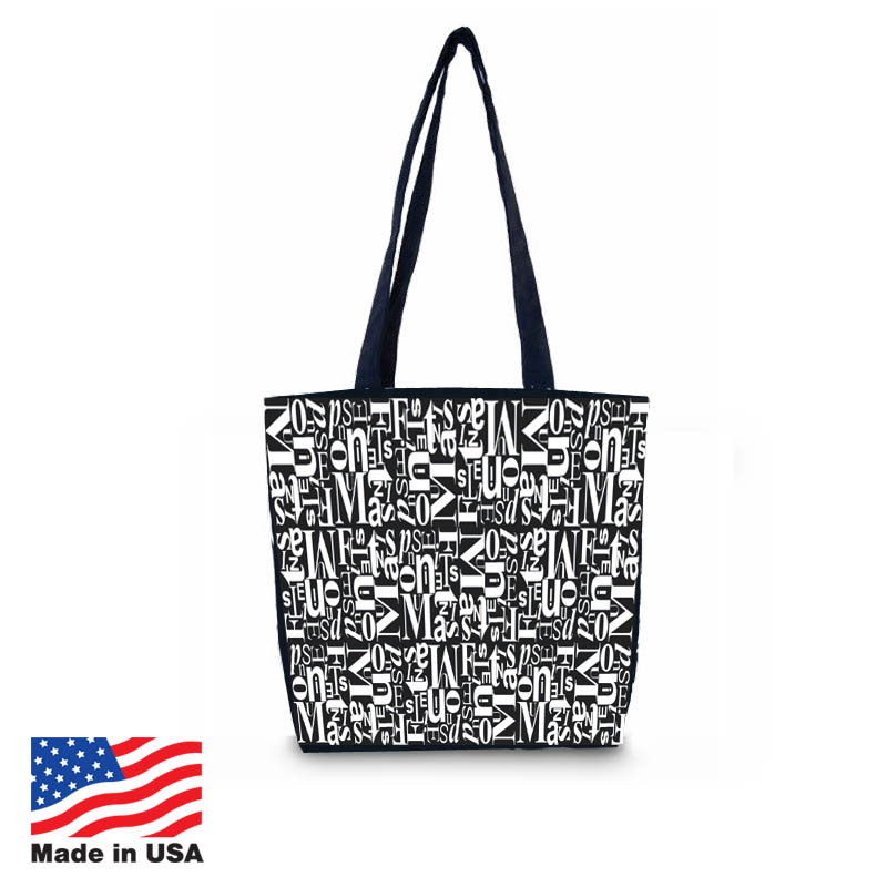 USA Promotional 16x13 Cotton Canvas Carrybags