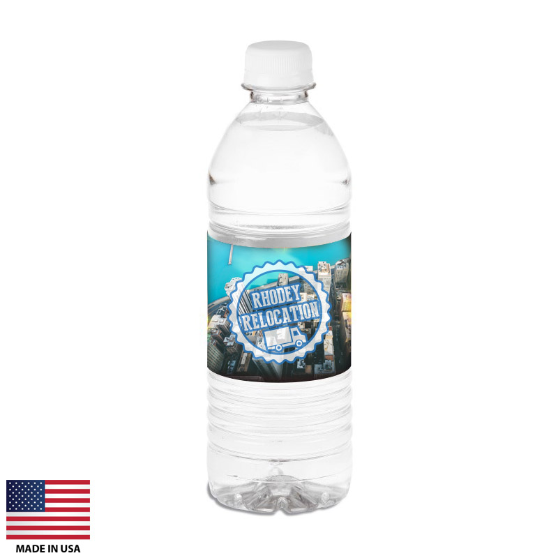 Custom Bottled Water Made In USA