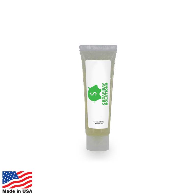 USA Promotional 1oz Squeeze Tube Aloe Vera Gel