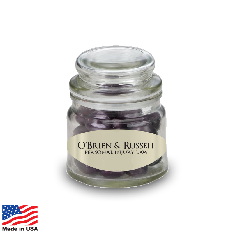 USA Promotional 4oz Apothecary Candy Jars
