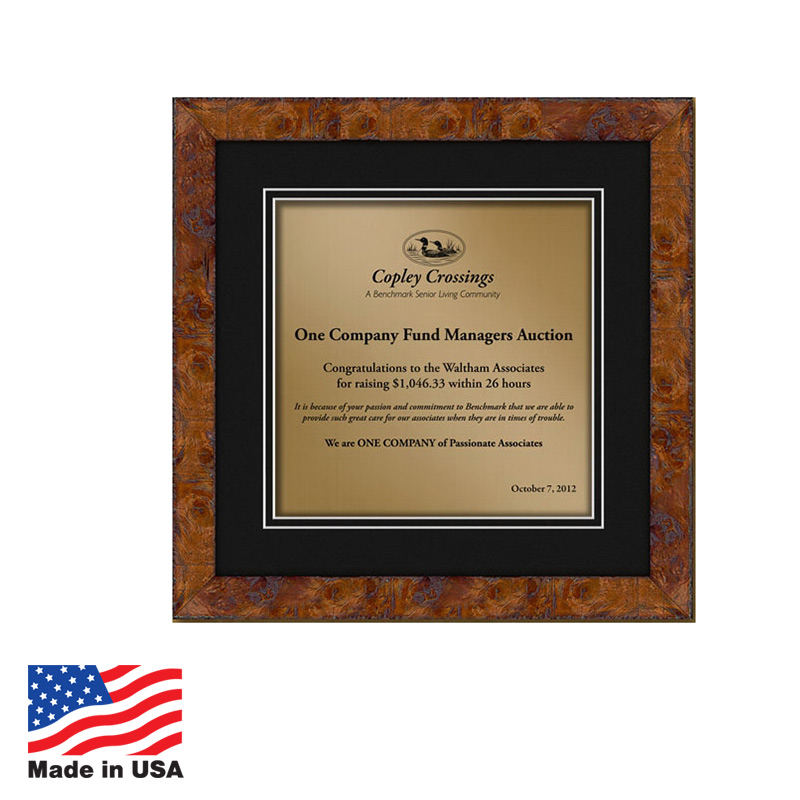Custom Award Plaques Made In USA