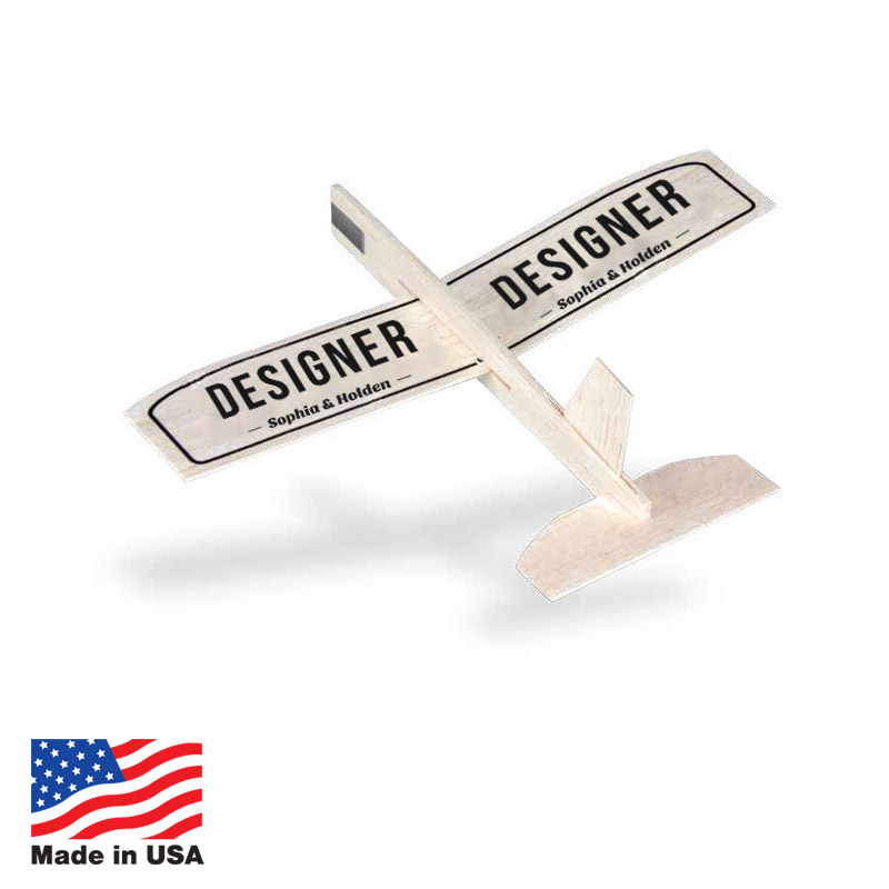 Custom Balsa Gliders Made In USA