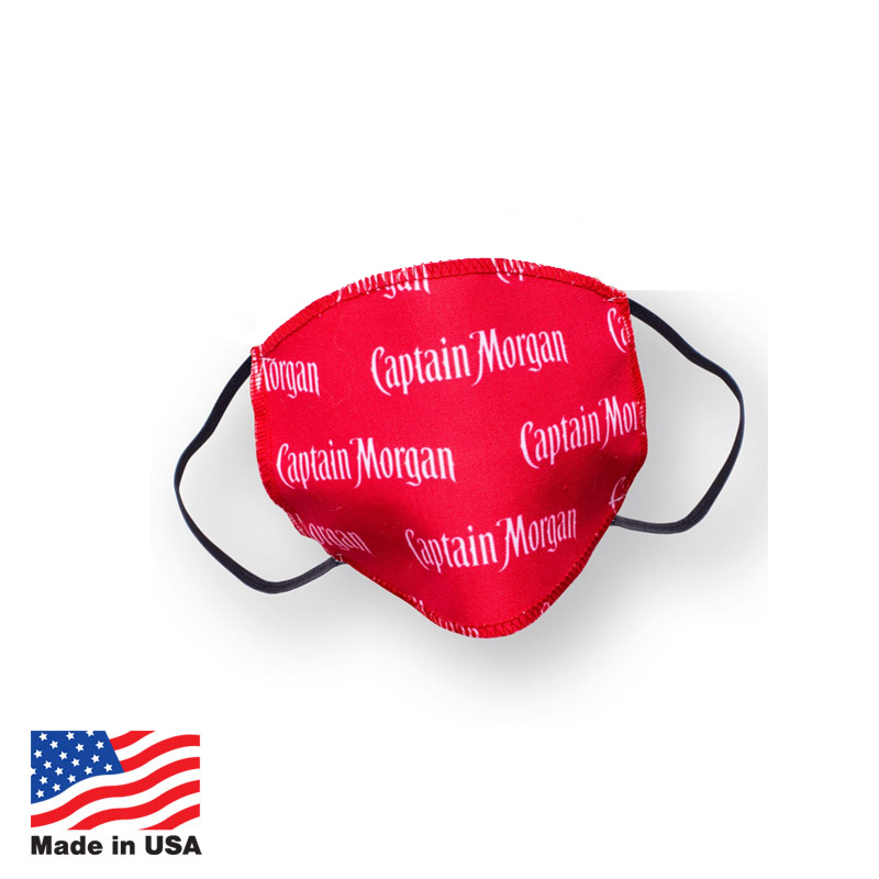 Custom Poly Face Masks Made In USA