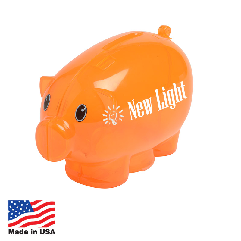 Custom Piggy Banks Made In USA