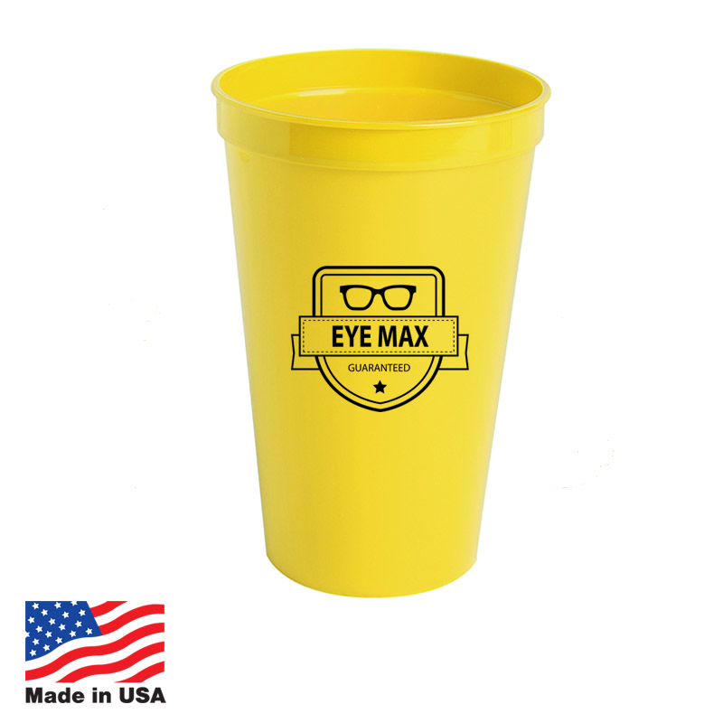 Custom Stadium Cups Made In USA