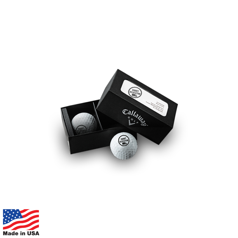 USA Promotional Callaway Warbird 2-Ball Packs