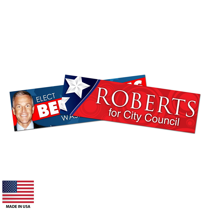 Promotional Vinyl Bumper Stickers Made In USA