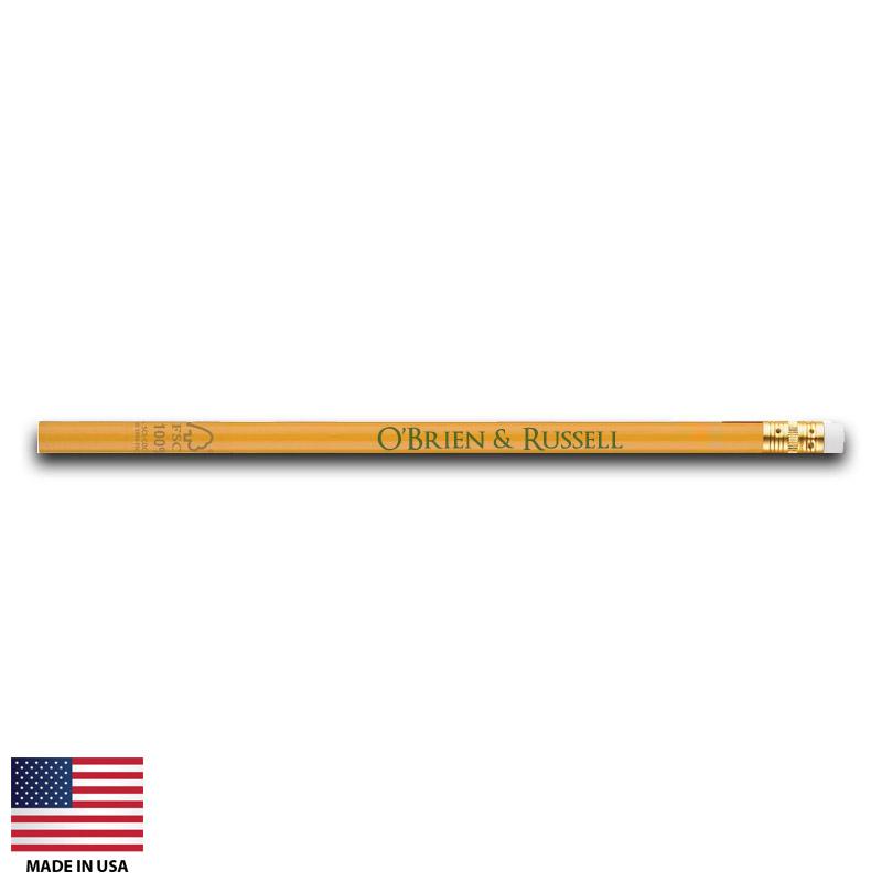 Custom Pencils Made In Usa Fsc Wooden Us916