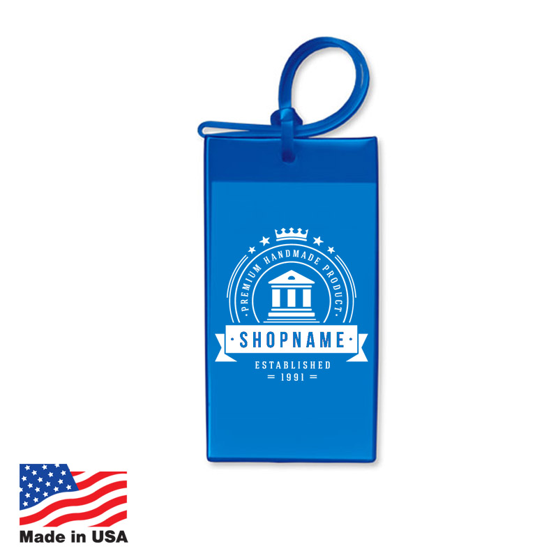USA Promotional Vinyl Bagtags