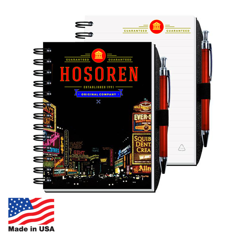 Journals with Pen Set, 5x7 80-Sheet USA 5x7 80-Sheet Journals with Pen Set,USA Promotional 5x7 80-Sheet Journals with Pen Set,USA Imprinted 5x7 80-Sheet Journals with Pen Set,USA Custom 5x7 80-Sheet Journals with Pen Set