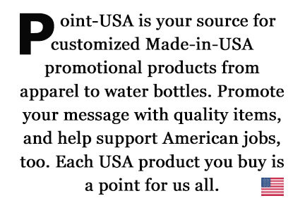 Point-USA usa made promotional items mission statement