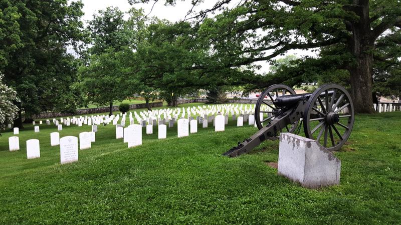 cemetery at Gettysburg battlefield
