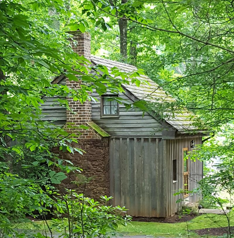 refurbished slave cabin near Spotsyvania