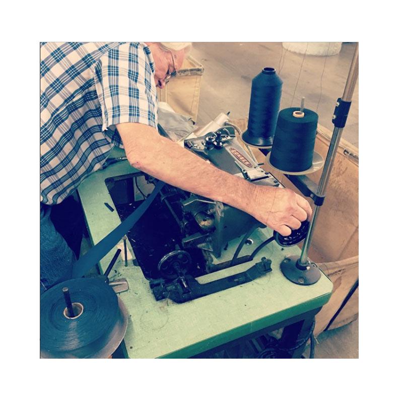 repairing sewing equipment