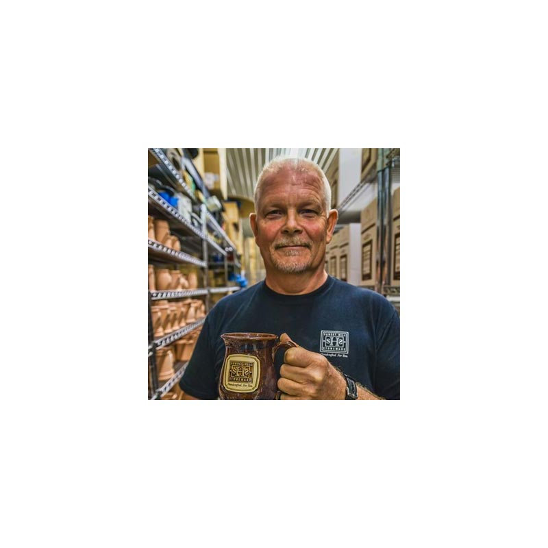USA Made 16oz Java Stoneware Mugs